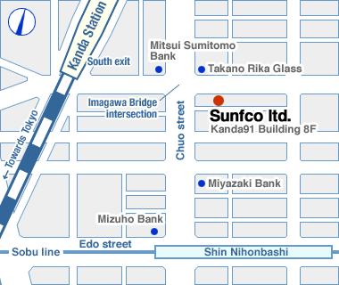 Sunfco ltd. Tokyo headquarters